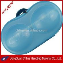 2014 ECO-Friendly fashionable portable PP material bra case,bra bag/bra box for travel