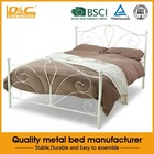 High quality matress bed for school furniture kids metal modern furniture bed