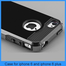 for iphone 6 cover Shockproof Hard Rugged Heavy Duty Cover iPhone 6 pc tpu case(PT-I6207)