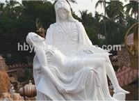 Christian statue, Jesus life statue, Virgin Mary stone statue