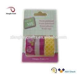 paper masking tape japanese washi adhesive paper tape for gift packing