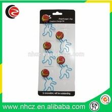 Sports Man & Basketball Bookmark