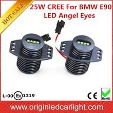 Supply 25W LED Angel Eyes For BMW E90/E91/E92/E93 12V LED Marker Light