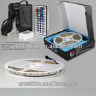 24 Key IR Remote/5M 300 LED 5050 SMD RGB Waterproof LED Light Strip Flexible