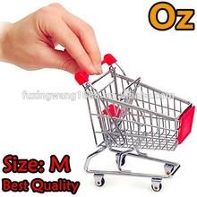 Toy Trolley Medium Size Quality Mini ShoppingCart Storage Basket weirdland