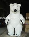 para adultos del oso polar disfraces mascota para la venta