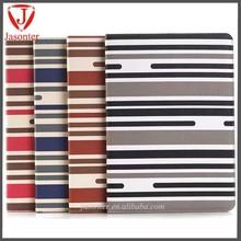 China wholesale streak with card slot sleep wake Leather PU wallet cover For apple iPad mini case