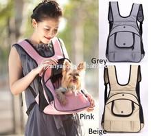 soft designer fabric pet animal traveler front dog carrier bag