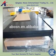 Black High Density Polyethylene plastic Sheet supplier