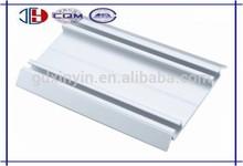 Lower aluminum profile rail for wardrobe sliding door