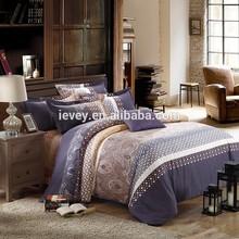 Reactive printing 100% cotton home textile china manufacturer home sense bedding set simple bedding