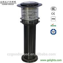 GSB SL13 Stainless Steel Solar Garden Lamp/high quality round Solar Lawn Lighting