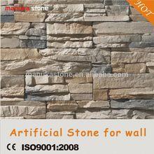 Plastic model cement material nature stone texture interior decorative wall stone