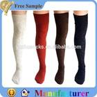 acrylic wool sex girls thigh high socks wholesale