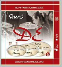 CHANG DE regular set cymbals pack music drums