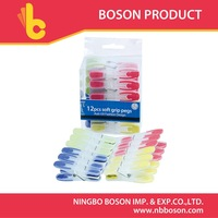 12pcs plastic cloth peg,peg hook