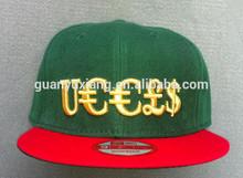custom 3d embroid snapback cap/wholesale snap back hatand cap/6 panel snapback cap with embroidery logo