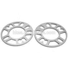 ISO 8mm aluminum Wheel Hub motorcycle gasket- Silver