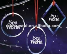 Poplular crystal christmas ornament