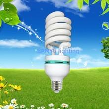 China manufacture supply 85w half spiral energy saving lamp/light