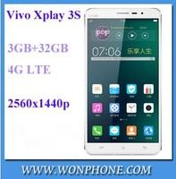 Vivo Xplay 3S Quad Core 3GB/32GB Smartphone Single SIM Card GSM/WCDMA/4G LTE Mobile Phone 6.0 Quad HDIPS Touch Screen Phone