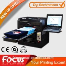 High speed t shirt digital clothes printing machine