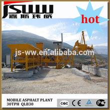 twin drum and batch type mini asphalt plant
