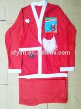 Santa traje traje de adultos