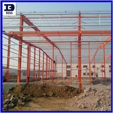Prefab ISO low cost steel structure workshop