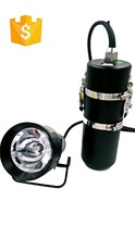 Trade assurance,HID 85W 8500lumen super bright ,18200mah rechargeable liion batteriesDB-D30 canister DIVING LIGHT