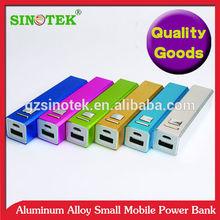 SINOTEK Aluminum alloy 2200mAh girl power bank