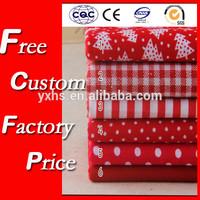 100% cotton wholesale christmas fabric