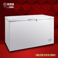 BD-400 Single temperature Freezing High Capacity Household Commercial Single top open door 400L Chest freezer cb ce ccc iso