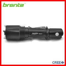 Bronte RC25S High lumen cree led aluminum tactical flash light gun flash light