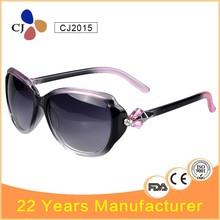 CJ Two Tone Colours Women Fashion Sunglasses