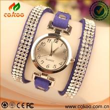 Fashion women digital wrist watches with full diamond on the strap wrist watch