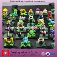 Plants Vs Zombies Plastic toys, Cheap small Plastic toys,Custom Plastic Toys