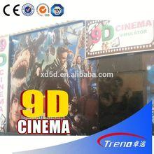 Electric system 9d cinema equipment 6d cinema system