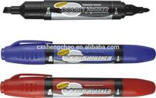 double felt tip textile permanent marker pen