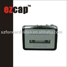 USB Audio Capture(Cassette to MP3 Converter) EzCAP218