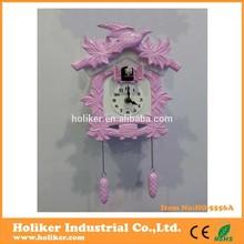 modern cuckoo clock for girl's room decor