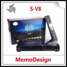 SKYBOX V8 / S-V8 HD Satellite TV Receiver Support CCcam NEWcam Biss key Youporn WebTV EPG DVB-S2 Set Top Box New model SKYBOX