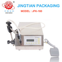 JFK-160 Digital Electrical Type Semi-auto Liquid Filling Machine / Filler