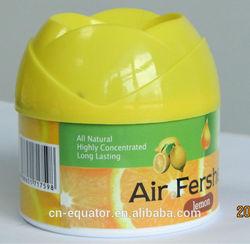 80g lemon fragrance highly concentrated air freshener gel