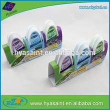 3pack 4.23oz / 120g(each) Ship-Shape Fresh custom gel air freshener