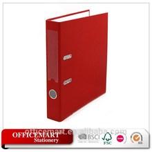 """red 2"""" pp cover portfolio/file folder a4/lever arch file"""