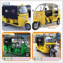 High quality low price 150cc Bajaj three wheel motorcycle/ 150cc Bajaj motor tricycle /Bajaj scooter taxi