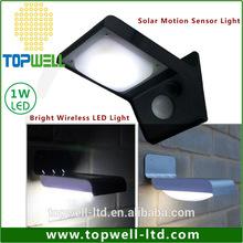 topwell TM mount solar motion sensor Security Lamp Light