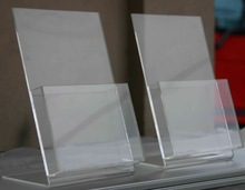 Clear Acrylic Brochure for office display