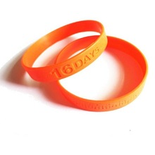 HOT-Selling Global market Cheap Promotionsl silicone allergy bracelet